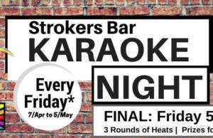 Strokers Karaoke Night