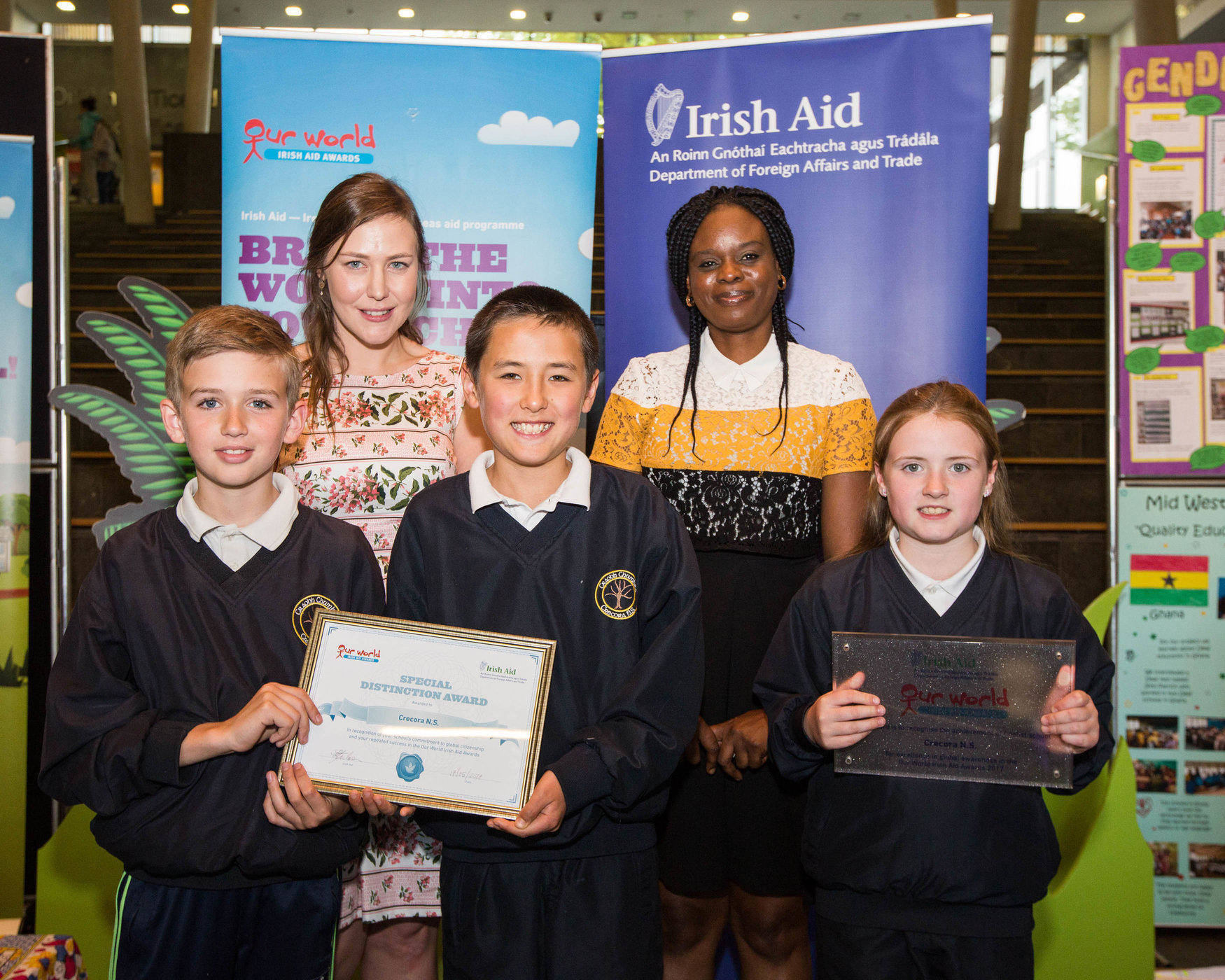Our World Irish Aid Awards 2017