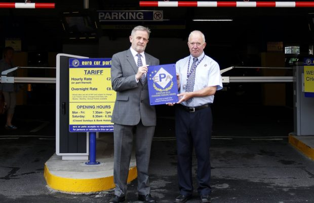 Charlottes Quay Euro Car Parks Limerick Receive Esp Award