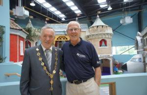 Mayor Keary visits Dreamland.