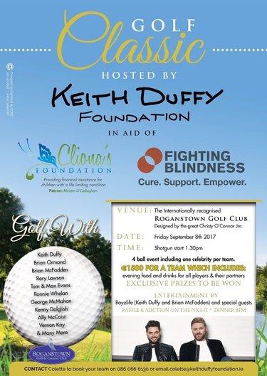 Keith Duffy Foundation Annual Golf Classic 2017