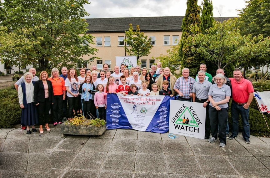 Charity Cycle 2017 Limerick to Ballybunion