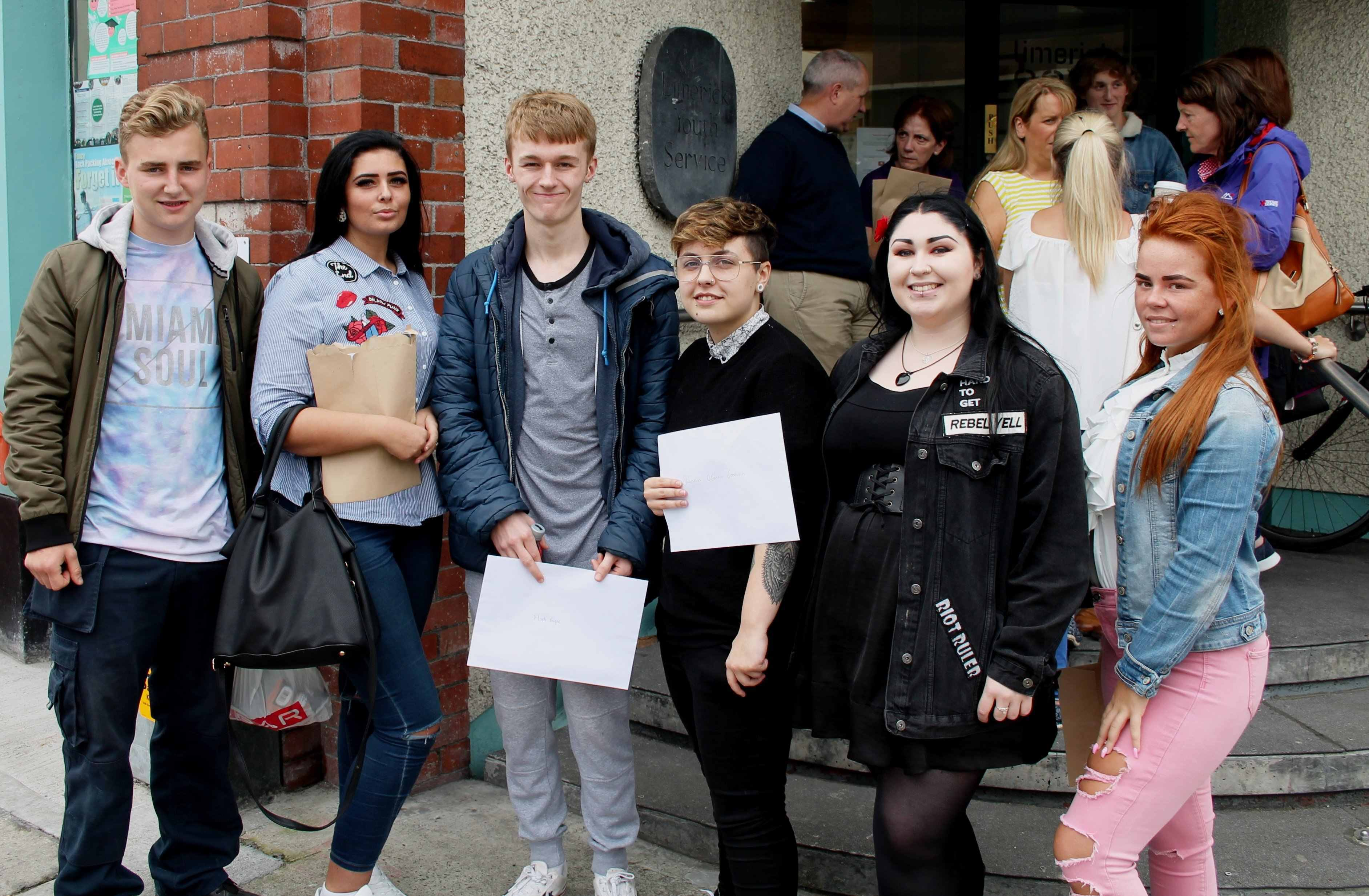 Limerick Youth Service Leaving Cert
