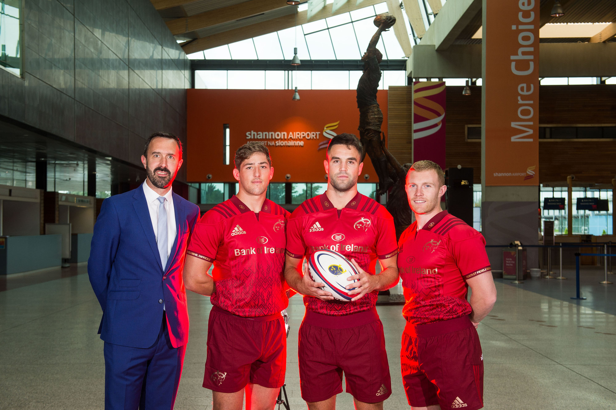 Munster Rugby Shannon Airport Partnership