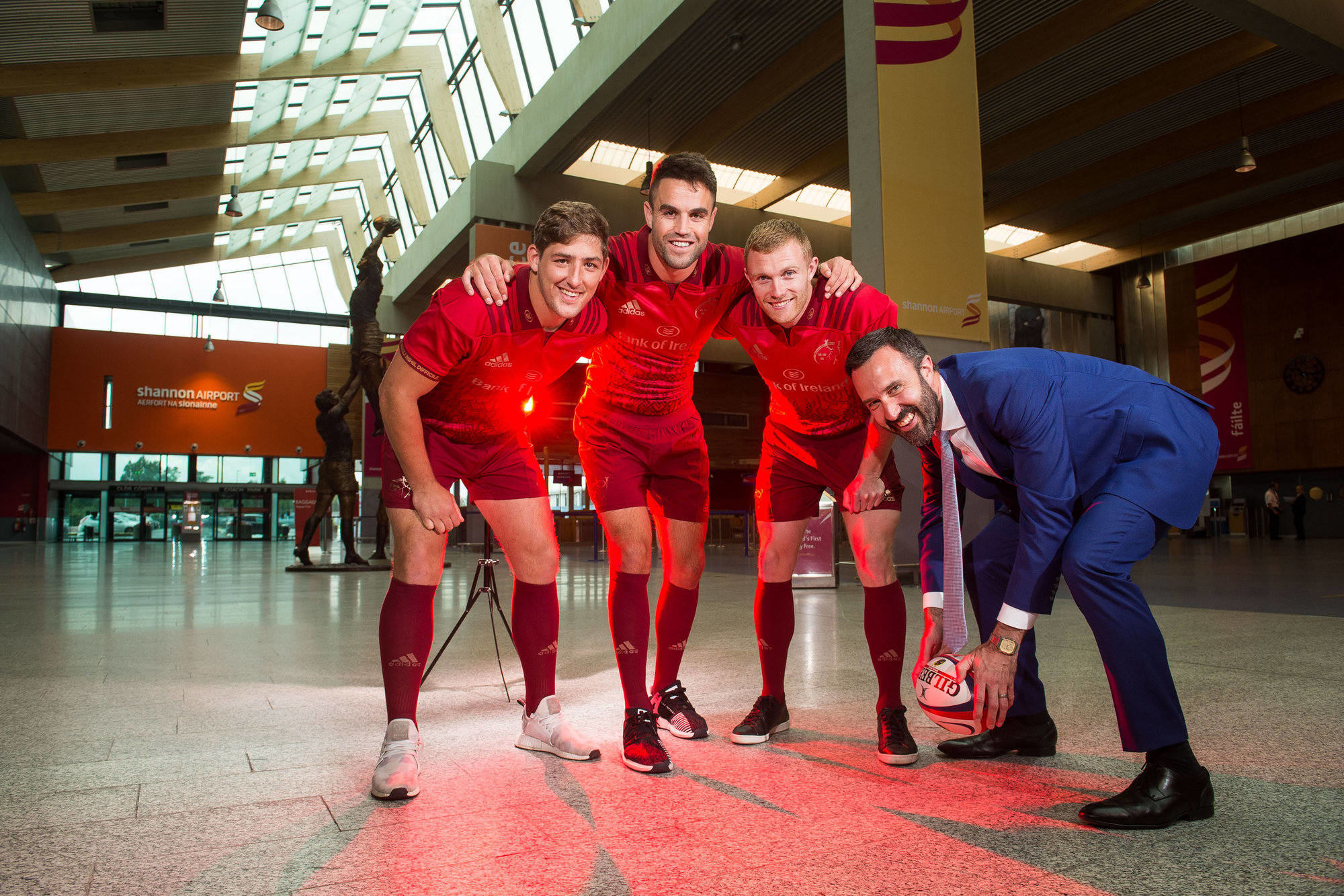 Munster Rugby Shannon Airport Patrnership