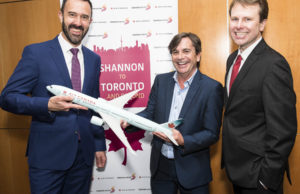 Shannon to Toronto
