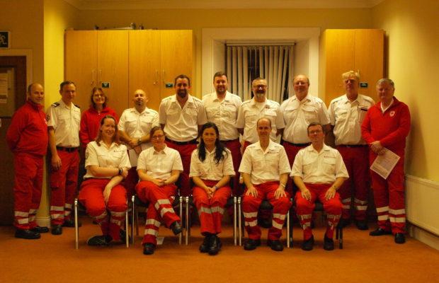 Irish Red Cross members awarded certificates