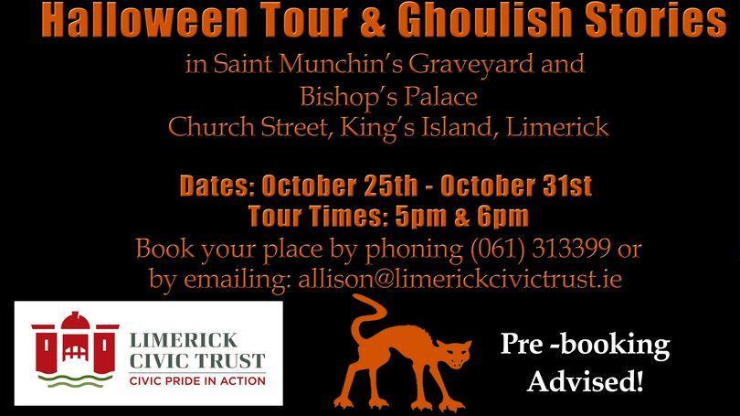 Haunted Halloween walking tour