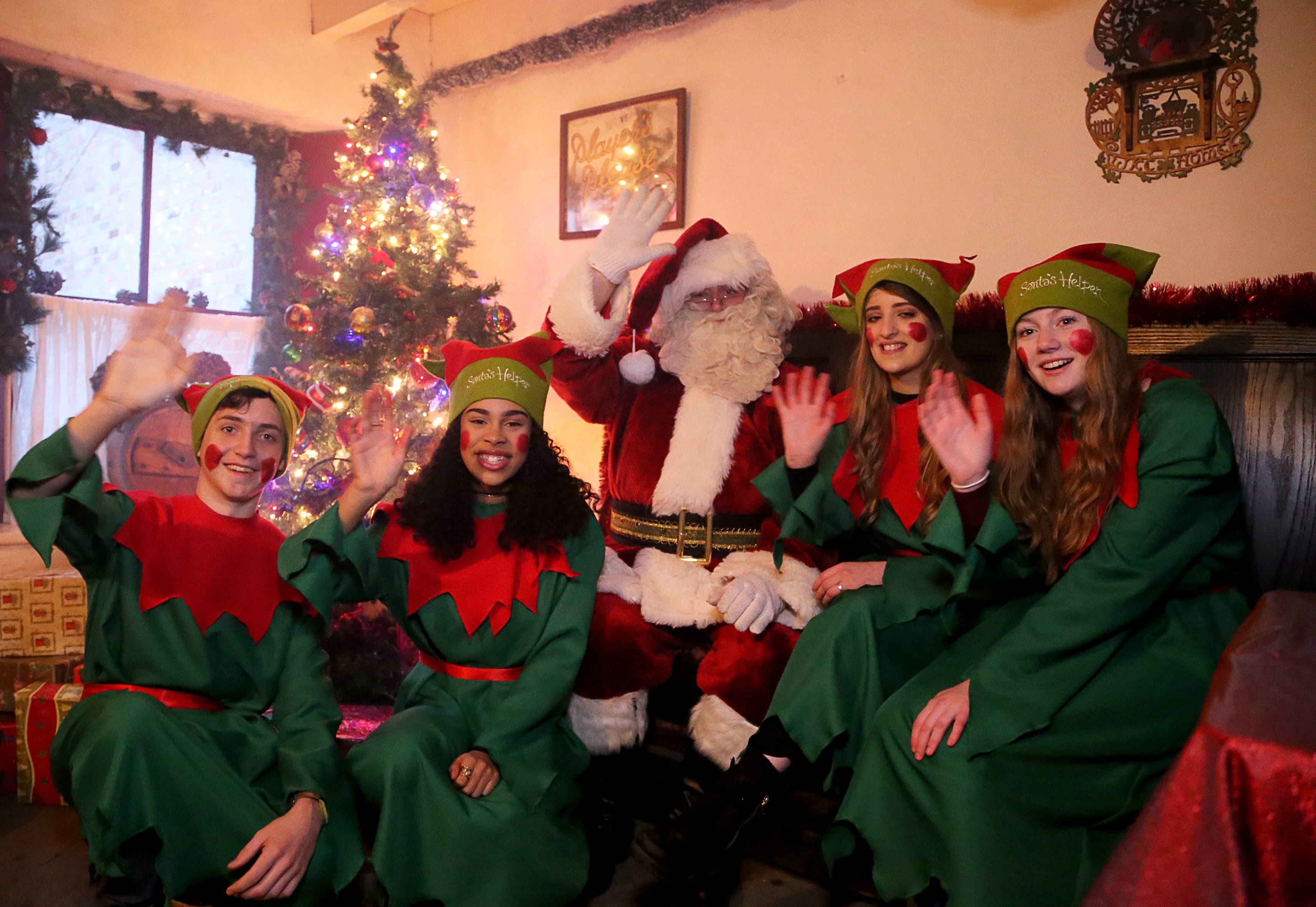 Santa Experience at Bunratty