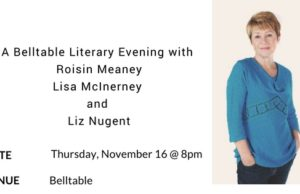 Belltable literary evening