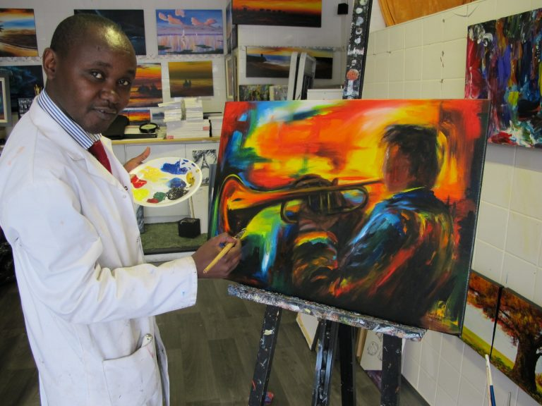 Jean Ryan Hakizimana exhibition Shades Of