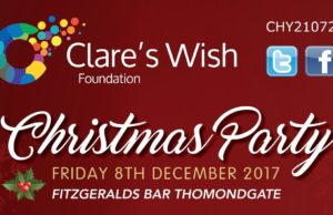 Clare's Wish Foundation Christmas Party