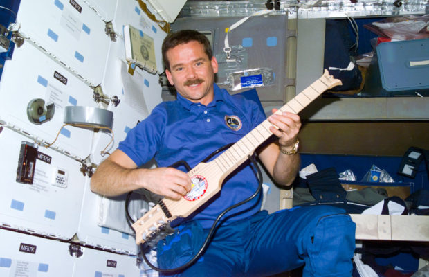 Commander hadfield