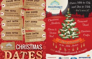 Millk Market eight days of Christmas