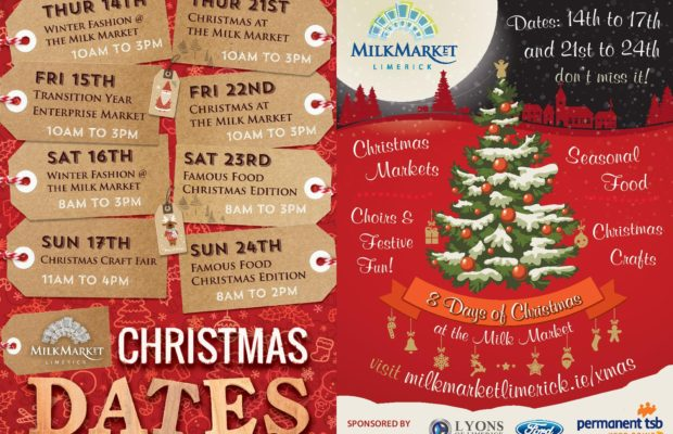 get into the festive spirit with the milk market eight days of christmas