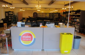 Enable Ireland homeware pop up shop