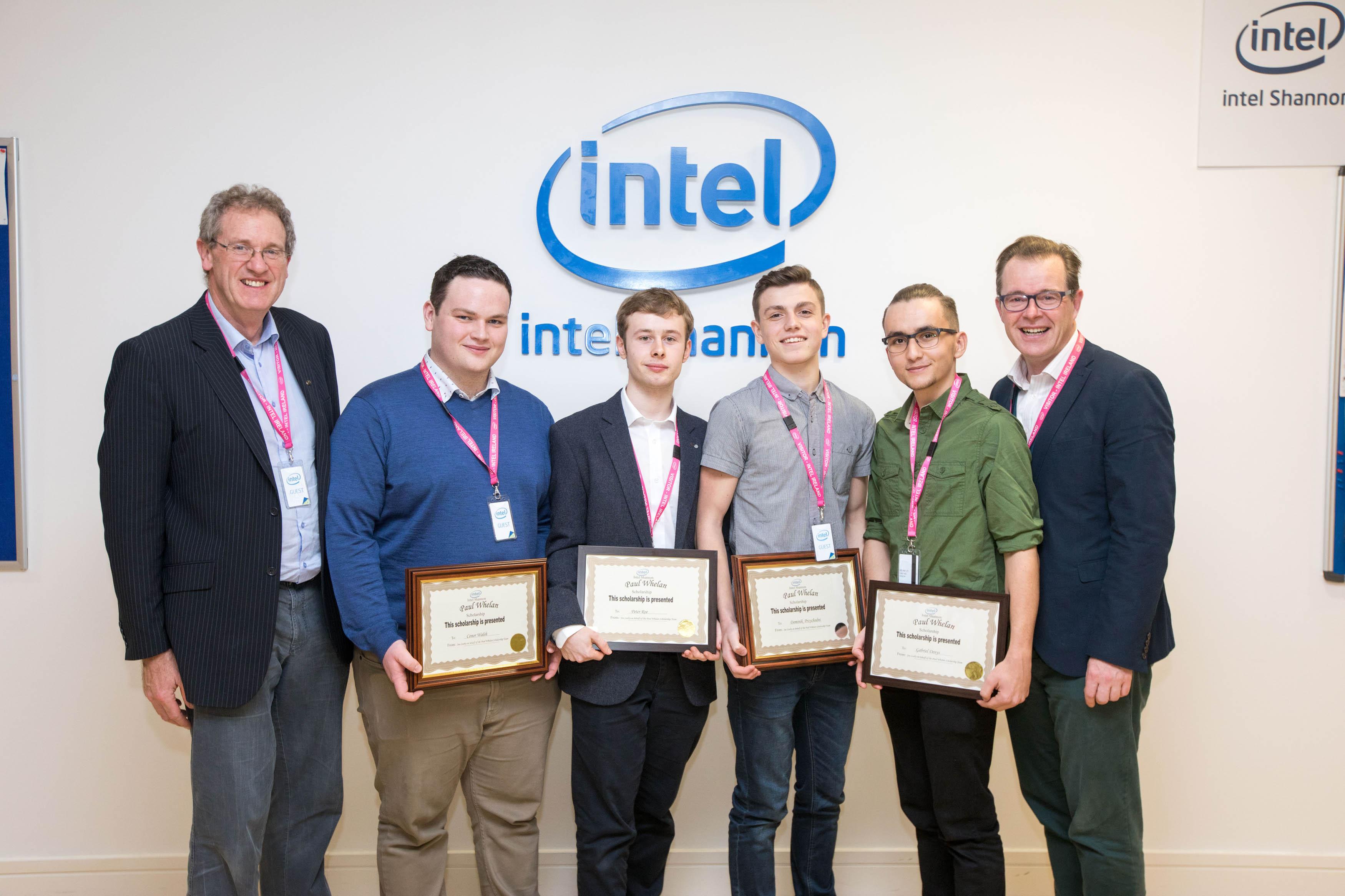 Intel Shannon Scholarship Awards 2017