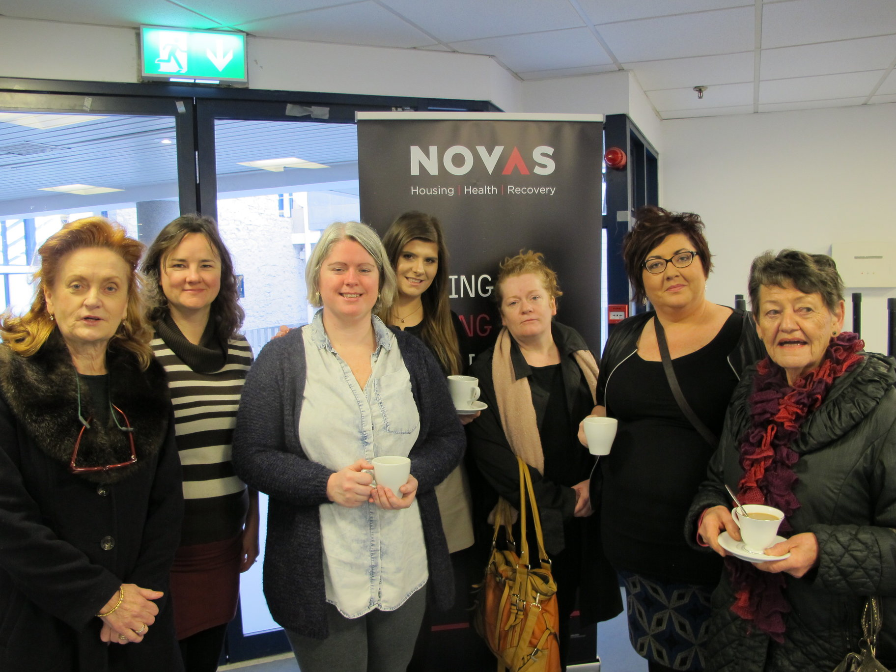 coffee morning in support of Novas
