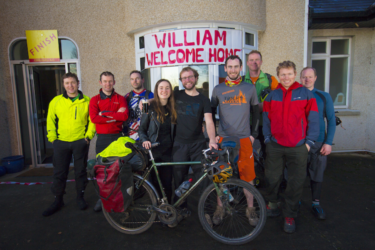 William Bennet welcomed home