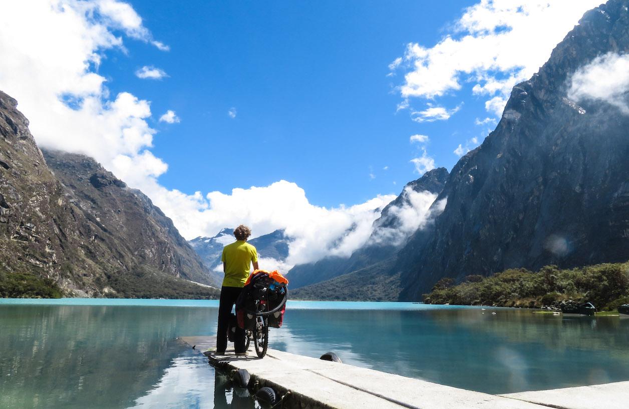William Bennett 58,000 kilometre around the world cycle