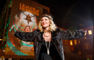 Amy de Bhrun in her production of 'I See You'