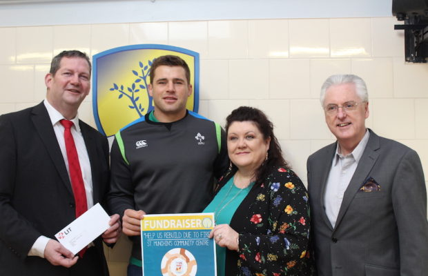 CJ Stander St Munchins Community Centre Fundraiser Launch