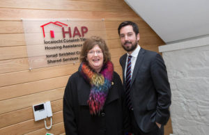 HAP Shared Service Centre with Minister Murphy and Senator Maria Byrne