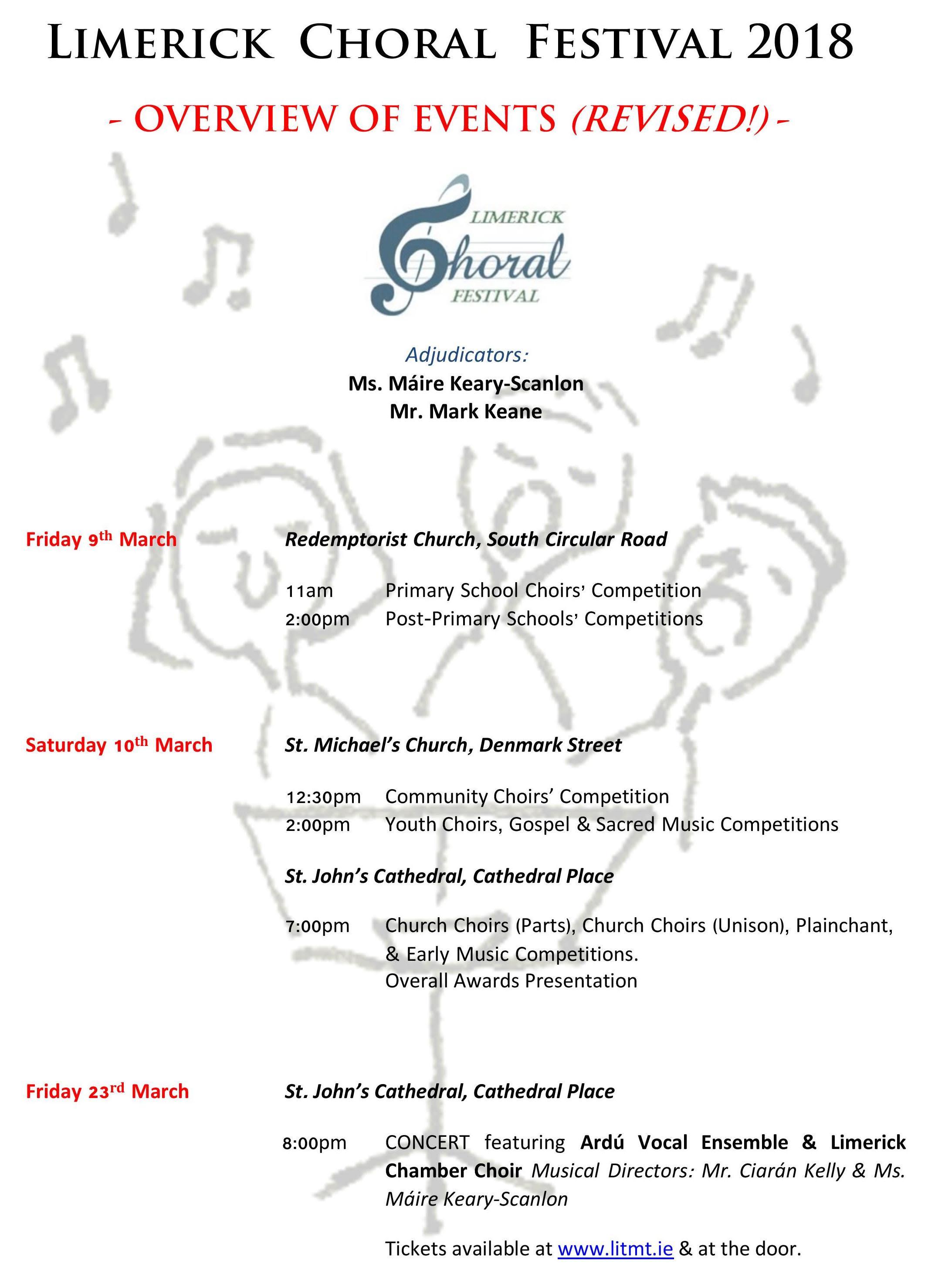 Limerick Choral Festival 2018