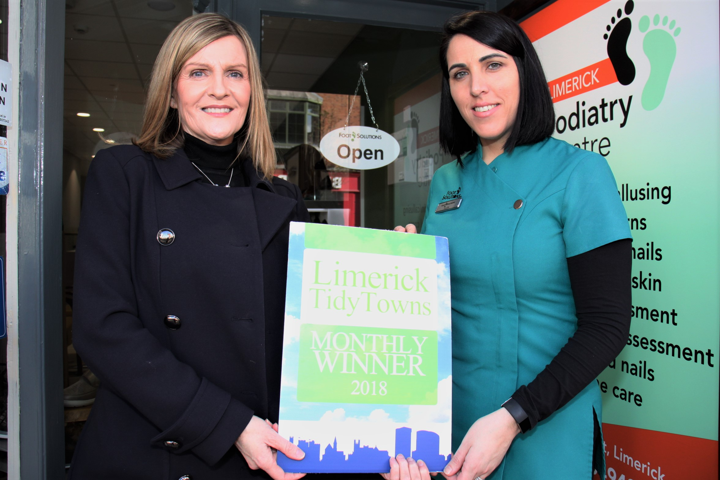 Tidy Towns February 2018 award