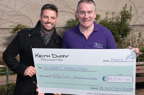Keith Duffy Foundation Donates