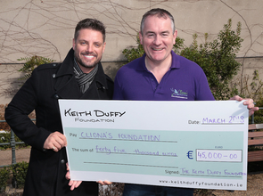 Keith Duffy Foundation Donates