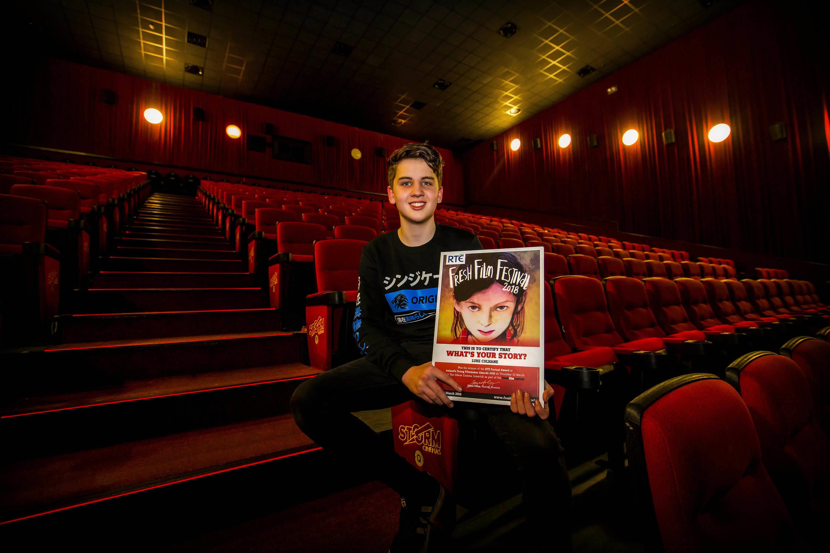Irelands Young Filmmaker of the Year 2018 Senior finals