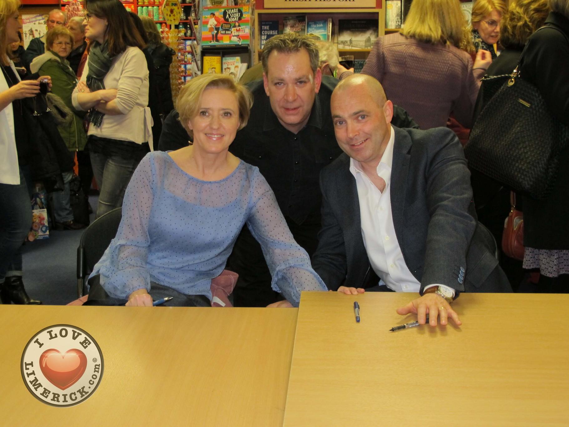 Donal Ryan Liz Nugent book signing