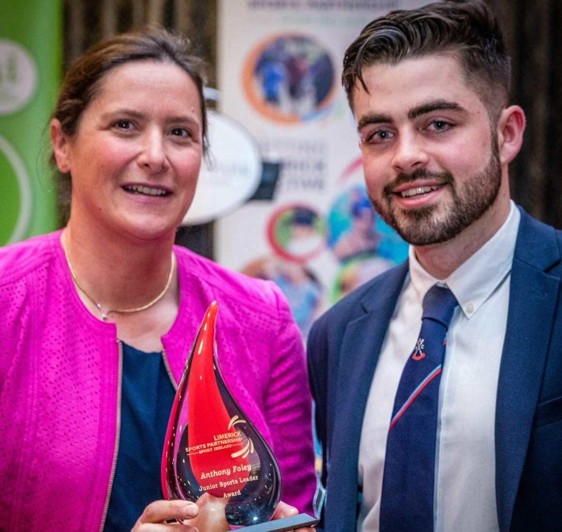 Anthony Foley Junior Sport Leader Award 2018