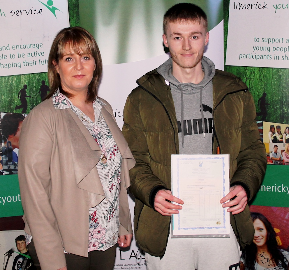 limerick youth service honoured