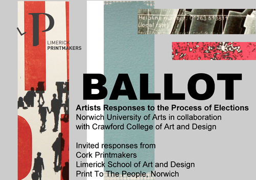 Limerick Printmakers Ballot exhibition