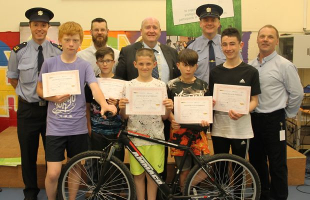 Teen Cyclist Graduates
