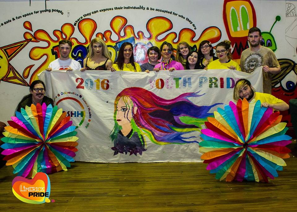 limerick pride youth party 2018