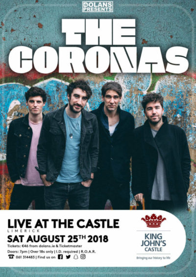 The Coronas to play at Live at the Docklands