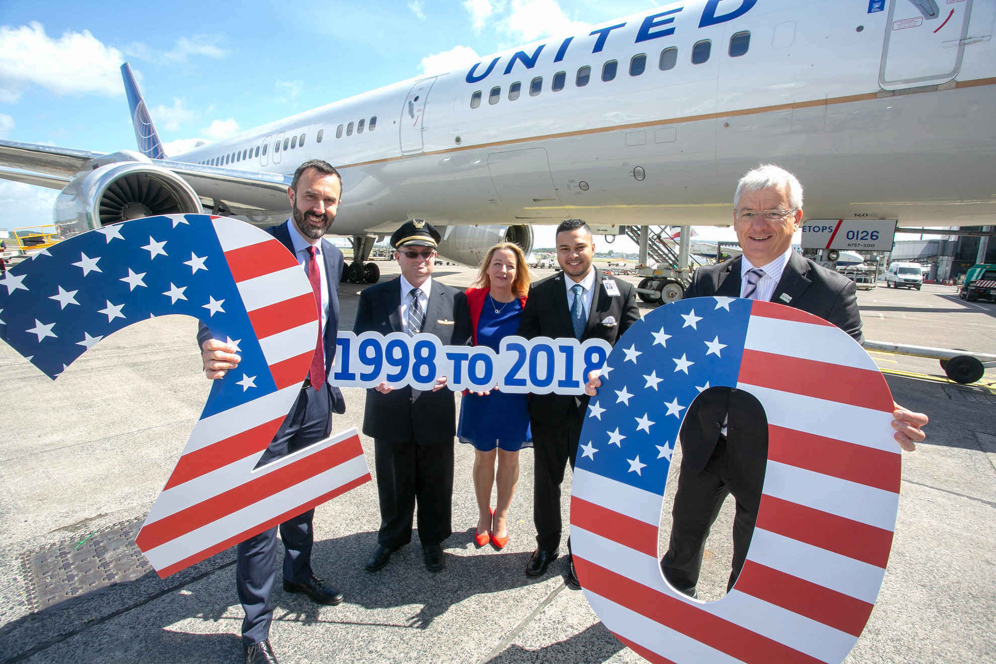 United Airlines Shannon New York
