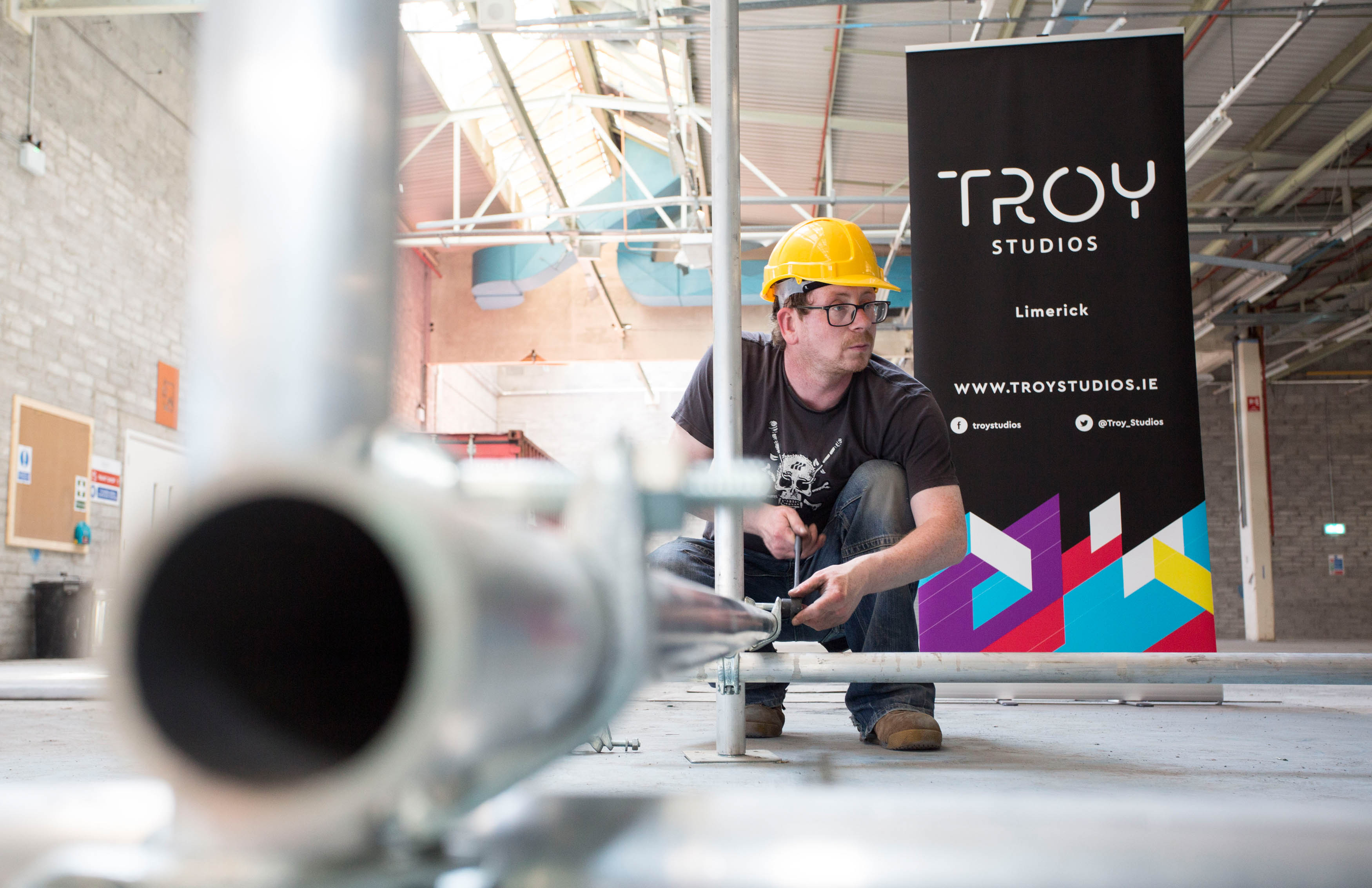Troy studios rigging