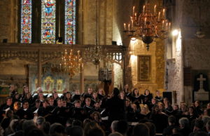 Irish youth choir performs