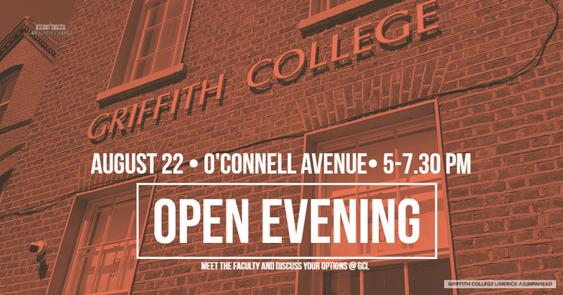 Griffith College Limerick open days