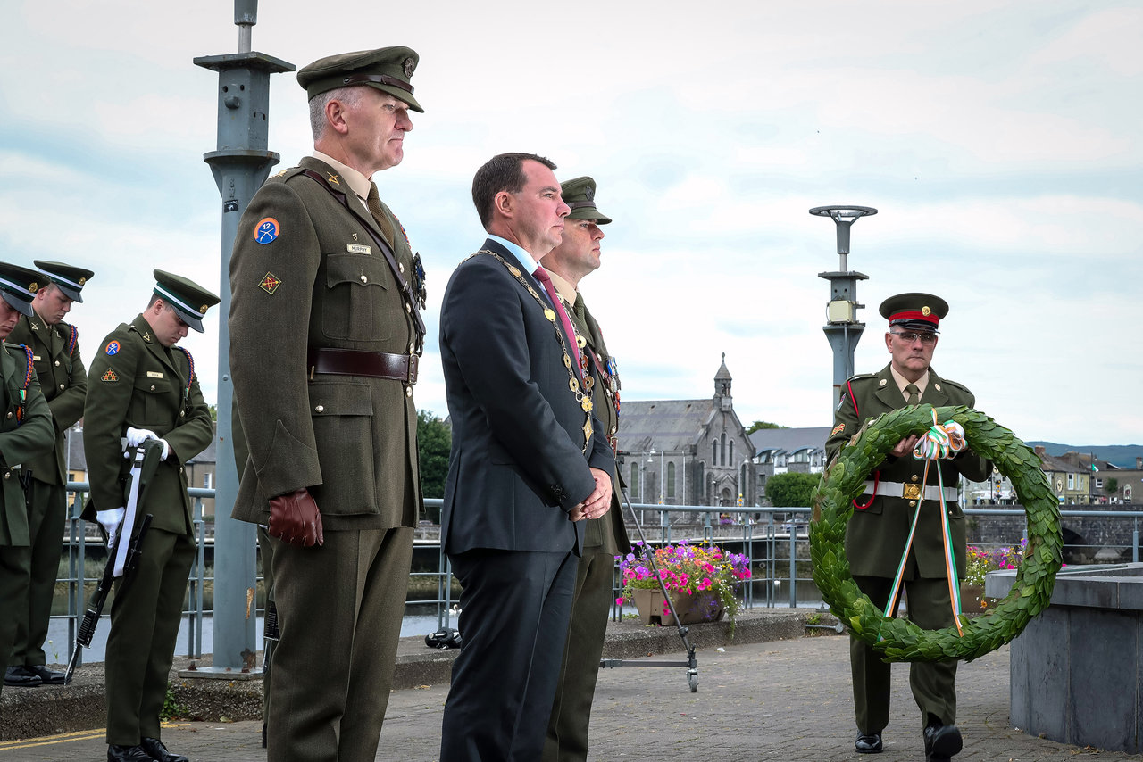 Limerick National Day of Commemoration Ceremony