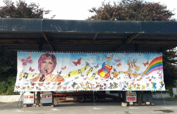 Dolores O Riordan mural
