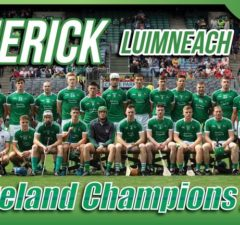 Limerick All Ireland hurling champions