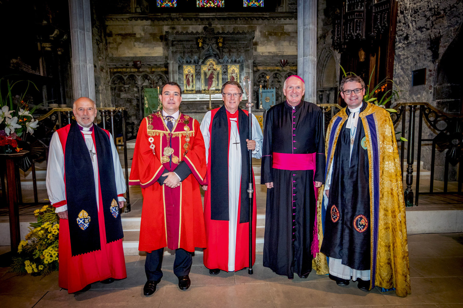 St Marys Cathedral Service