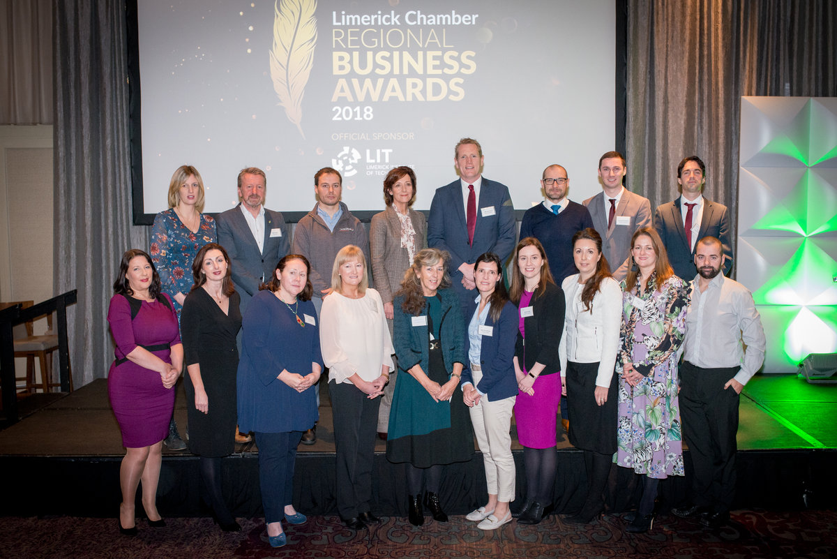 Limerick Chamber Regional Business Awards 2018