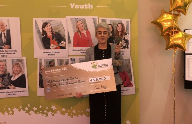 Children's Grief Centre won National Lottery Award