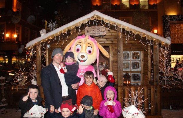 Charity Santa Cabin